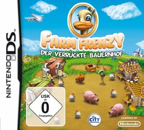 Farm Frenzy - Cover NDS