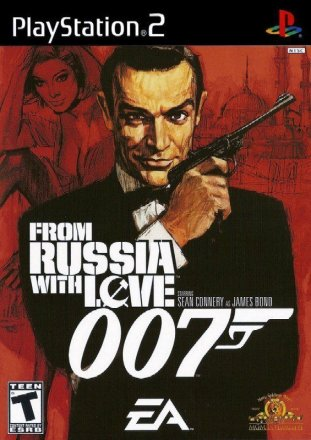 007: From Russia with Love - Cover PS2