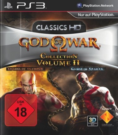 God of War Collection: Volume 2 - Cover PS3