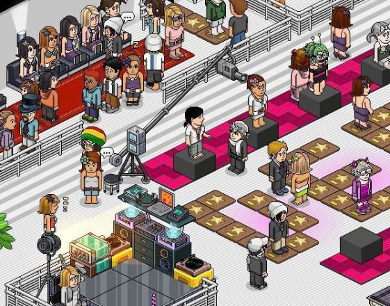 Habbo Hotel - Screenshot
