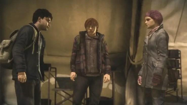 Harry Potter und die Heiligtümer des Todes #1 - Screenshot