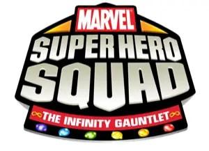 Marvel Super Hero Squad: The Infinity Gauntlet - Logo