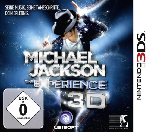 Michael Jackson: The Experience - 3DS Packshot