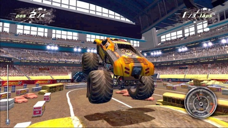 Monster Jam: Path of Destruction - Screenshot