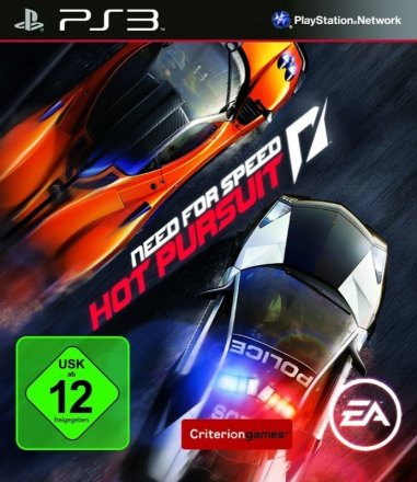 Need for Speed: Hot Pursuit - Cover PS3