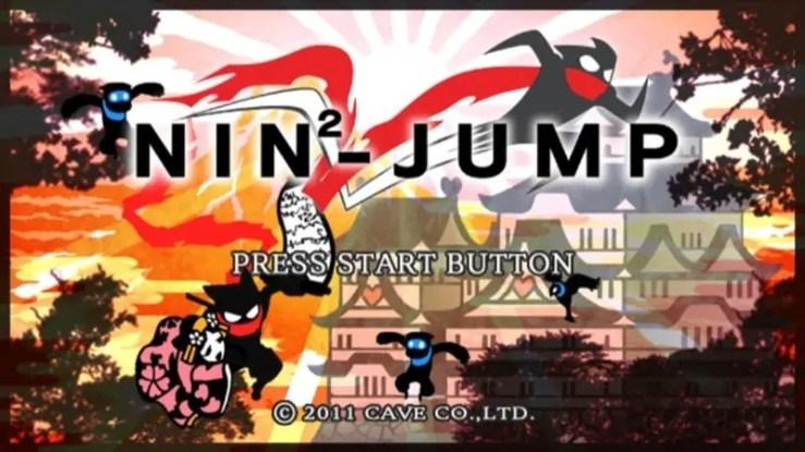 NIN2-JUMP - Startbildschirm