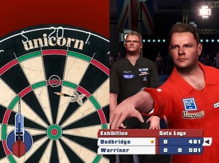 PDC World Championship Darts 2010 - Screenshot