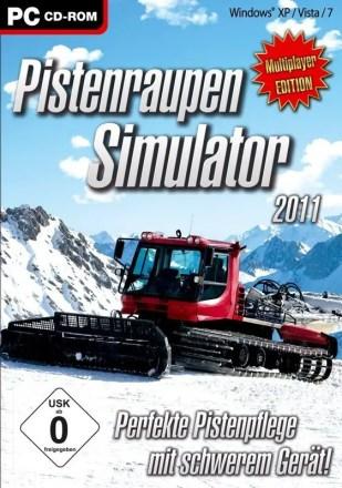 Pistenraupen Simulator 2011 - Cover