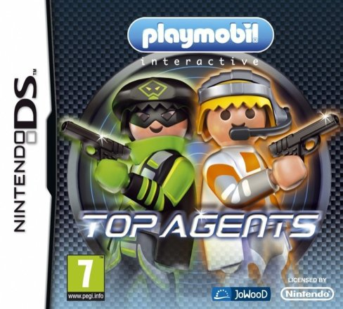 Playmobil Top Agents - Cover NDS