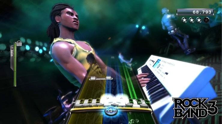 Rock Band 3 - Screenshot