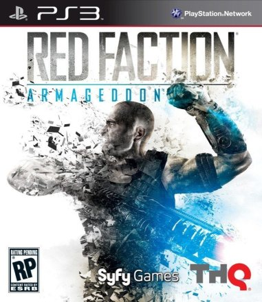 Red Faction: Armageddon - PS3 Cover