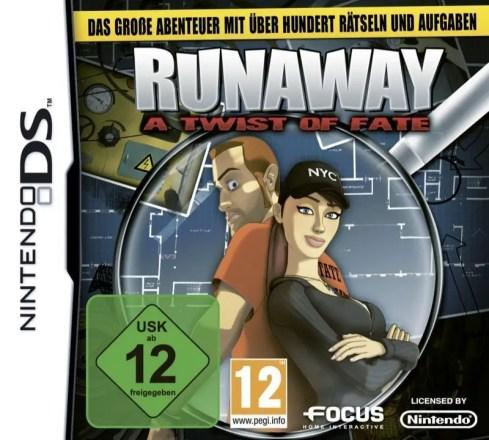 Runaway: A Twist of Fate - Cover NDS