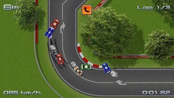 Rush Rush Rally Racing - Screenshot