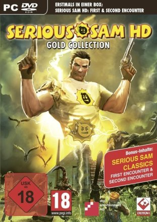 Serious Sam HD Gold Collection - Cover PC