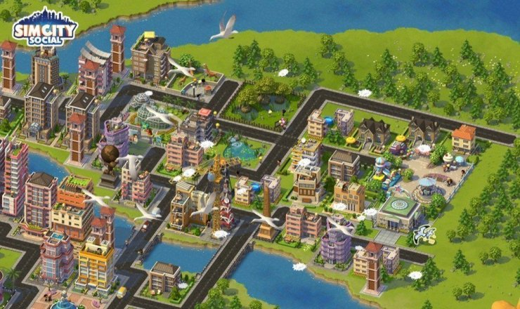 SimCity Social - Screenshot
