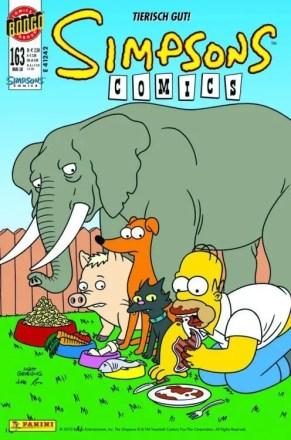 Simpsons Comics #163