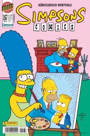 Simpsons Comics #167