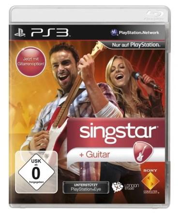 Singstar Guitar - Cover PS3