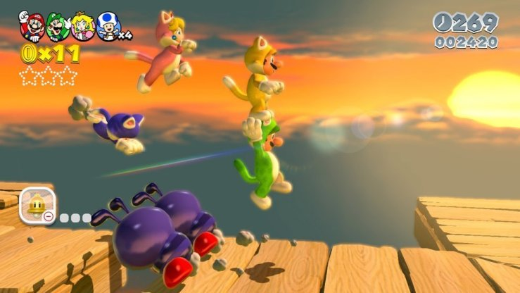 Super Mario 3D World - Screenshot