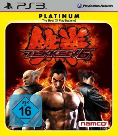 Tekken 6 - Cover PS3