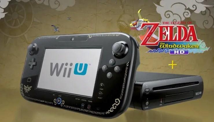 Wii U im Bundle mit The Legend of Zelda Wind Waker HD