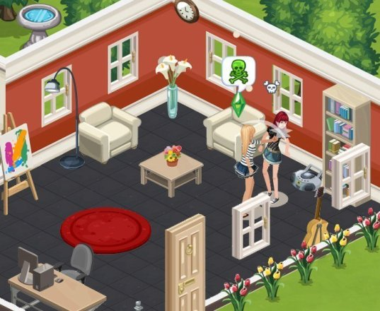 The Sims Social - Screenshot