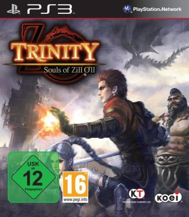 Trinity: Souls of Zill O'll - Cover PS3