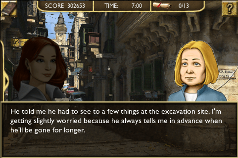 Chronicles of Mystery: Curse of the Ancient Temple - Screenshot