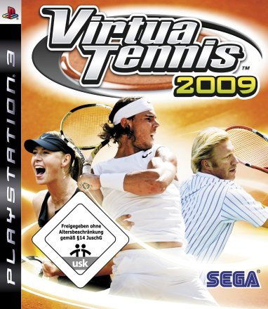 Virtua Tennis 2009 - Packshot PS3