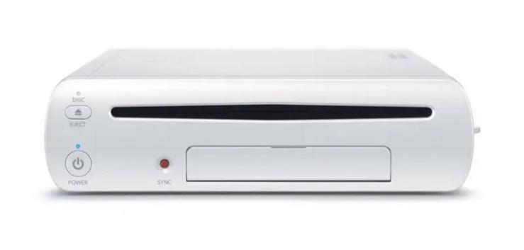 Wii U - Konsole mit Slot-in-Laufwerk