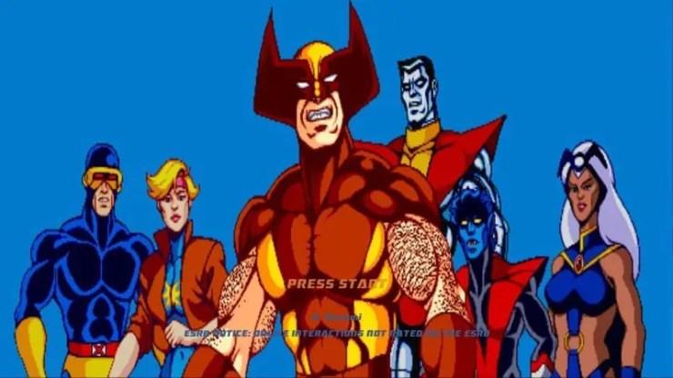 X-Men Arcade - Screenshot