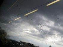 Und so empfängt mich unser liebes Aachen am Nachmittag. Alles wie immer!