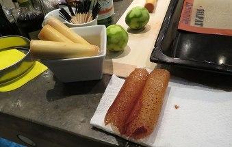 Die Dessert-Bastelaufgabe.