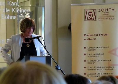 Zonta-Club Aachen feiert ein schönes Jubiläum