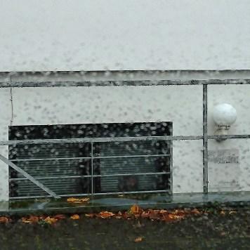 Ein nassgrauer Tag.