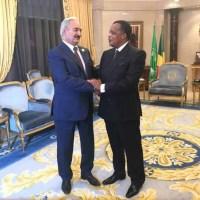 Crise Libyenne : Les propos de Khalifa Haftar irritent Denis Sassou Nguesso
