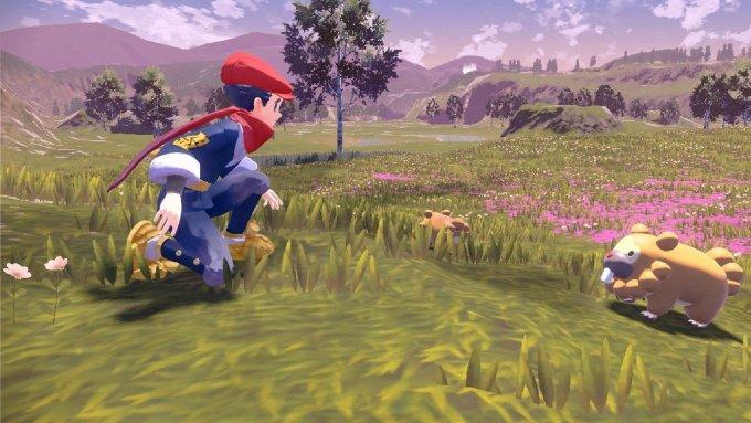 pokemon legends arceus open world release date 2022