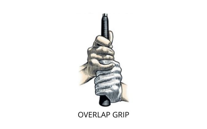 Overlap grip