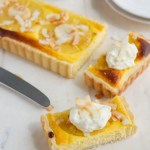 Tropical Coconut Pineapple Tart