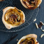 5 a Month: Nectarine Marzipan Pastry Roses