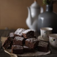 Schnelle Ovomaltine Brownies