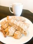 Glazed Cinnamon Biscotti