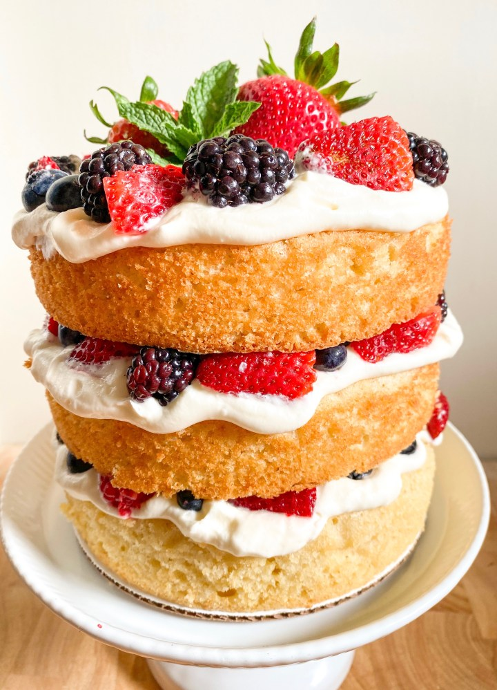 Cream Cheese Chantilly Cake