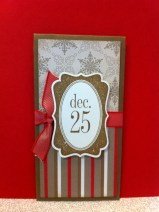 Dec 25th Gift Card Holder