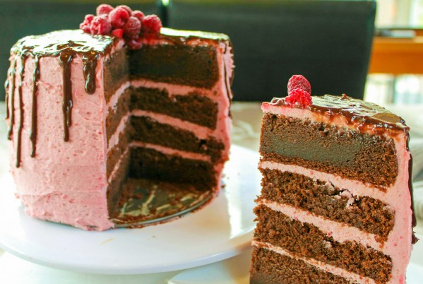 Chocolate Raspberry Cake