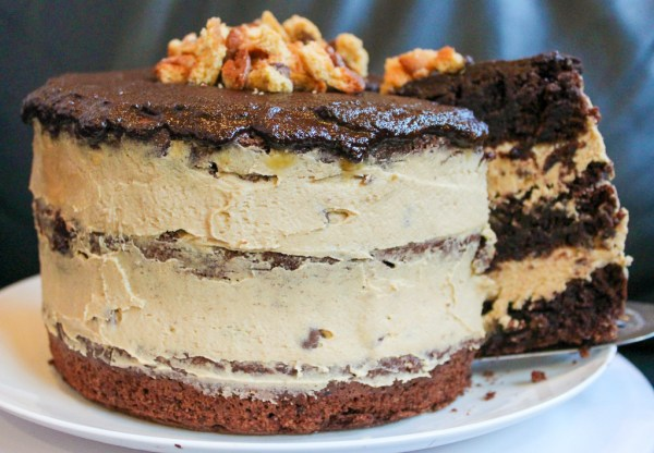 Cookie Dough Chocolate Cake