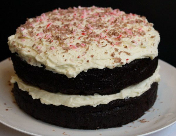 Double Chocolate Peppermint Cake
