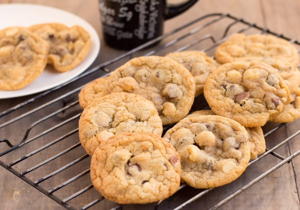 Triple Choc Chip Cookies