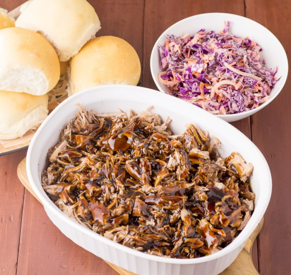 Brown Sugar & Balsamic Pulled Pork