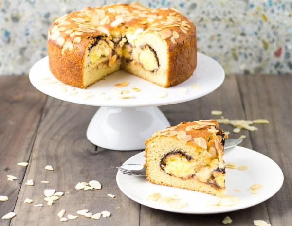 Profiterole Cake